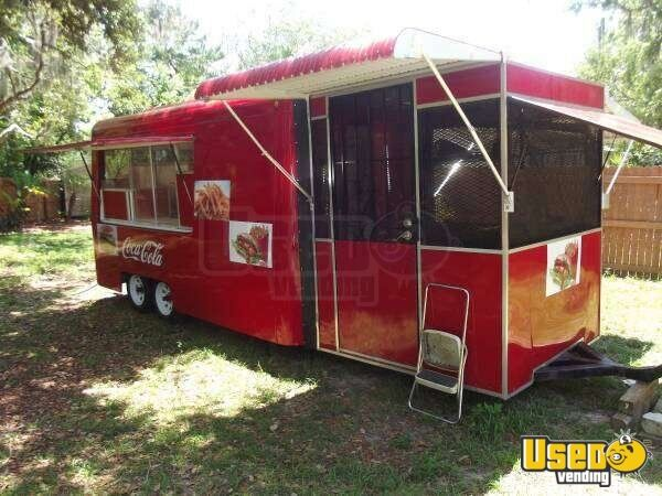 20 x 7 Mobile Kitchen Concession Trailer