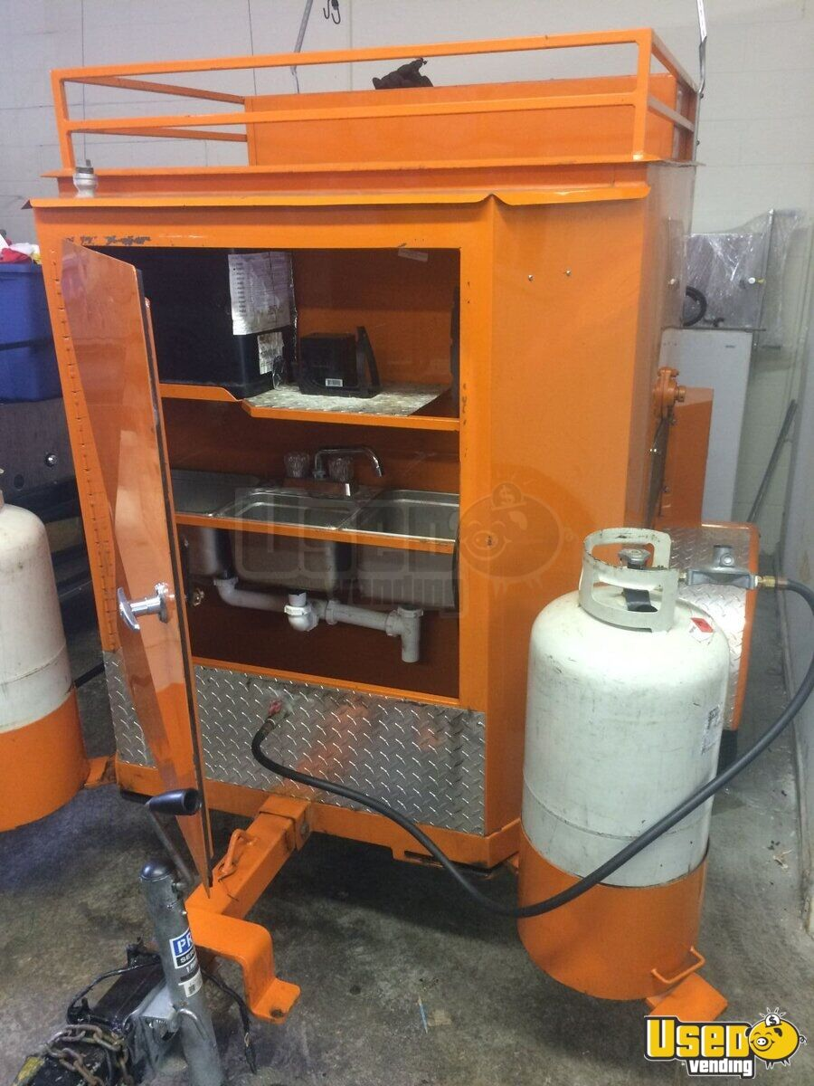 2011 - 6' x 4' Food Corn Roaster | kitchen trailer for ...