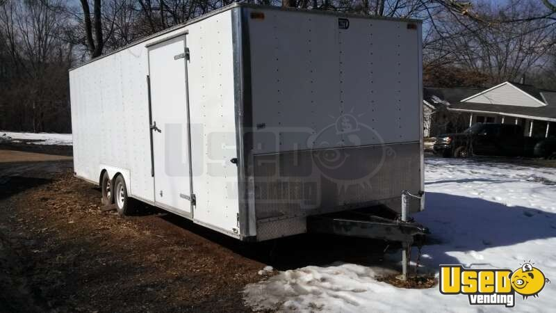 Pennsylvania Food Concession Trailer With Stock Trailer