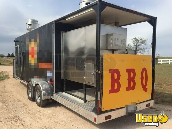 2011 8 X 30 Bbq Concession Trailer With Porch
