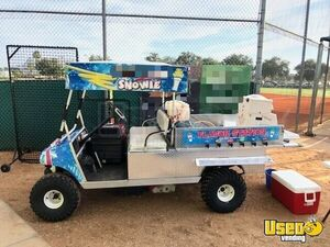 Very Unique Electric Ez Go Golf Cart 5 X 10 Snowball Stand Shaved Ice Truck Ebay