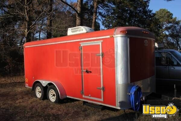 Used 16 39 Concession Trailer For Sale In Virginia Mobile Kitchen