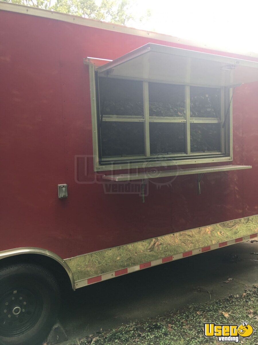 2017 30 Bbq Concession Trailer With Porch For Sale In