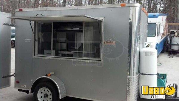 Mobile Trailer Unit : Mobile food unit  concession trailer