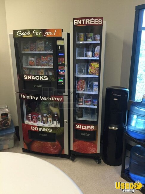 Healthy You 800/850 Combo Healthy Vending Machine for Sale in California!
