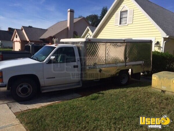 for sale used chevy silverado lunch truck in florida canteen truck food truck. Black Bedroom Furniture Sets. Home Design Ideas