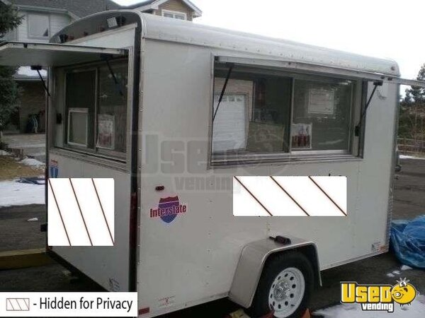 2008 - 6' x 10' Interstate Custom Built Concession Trailer!!!