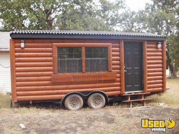 20 39 X 8 39 Log Cabin Concession Trailer Merchandise