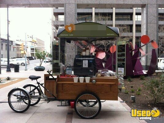 Mobile Coffee Vending Cart Bike Cart For Sale In