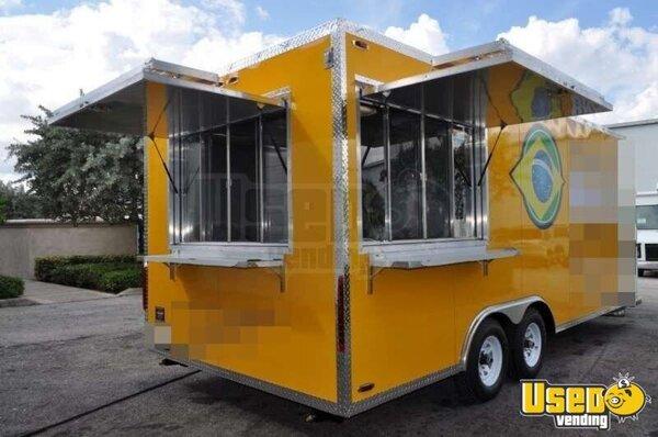 20 39 Mobile Kitchen Concession Trailer Kitchen Trailer For Sale In