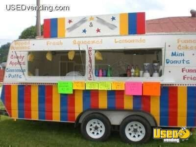 2005 Custom Built 7x16 Concession Trailer!!!