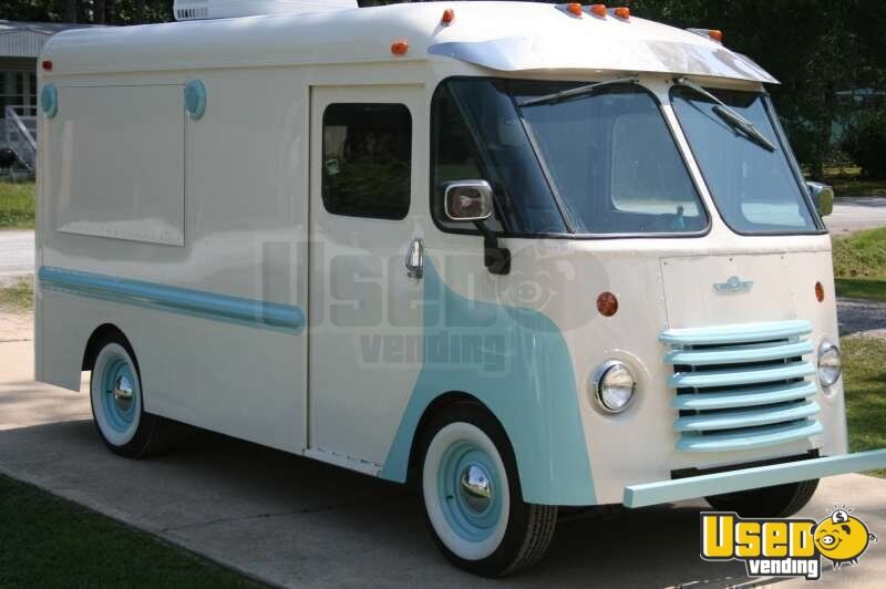 15 X 6 Concession Truck Vintage Food Truck Olson