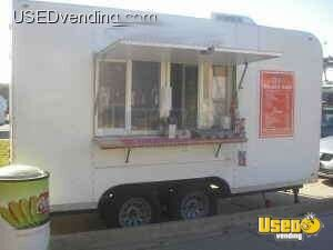 2004 - 14 x 8 x 8 Food Concession Trailer!!!