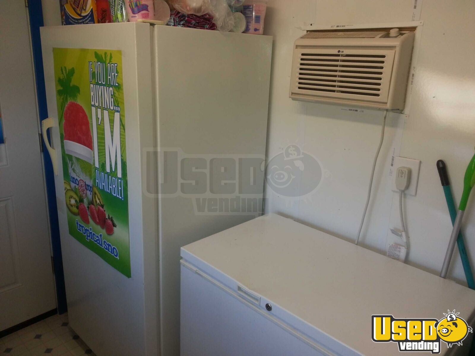 Shaved Ice Concession Stand Kitchen Trailer For Sale In