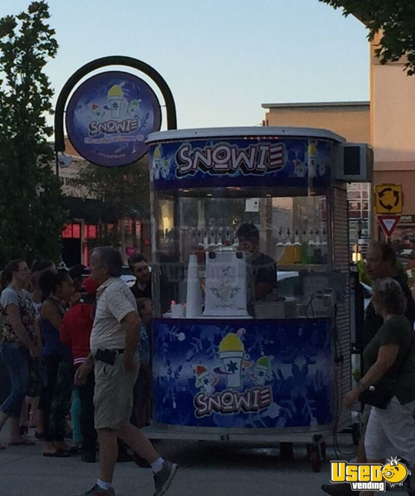 Details about Used Snowie Shaved Ice 5' x 8' Kiosk for Sale in Illinois!