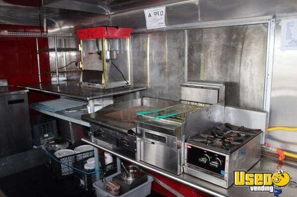 Used 2010 Concession Trailer for Sale in North Carolina