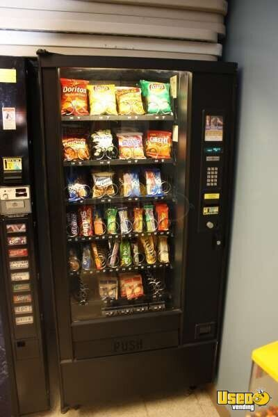 (9) - Automatic Products AP Studio 2 & 3 Electrical Snack Vending Machines!!!