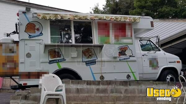 gmc food truck mobile kitchen for sale in rhode island. Black Bedroom Furniture Sets. Home Design Ideas