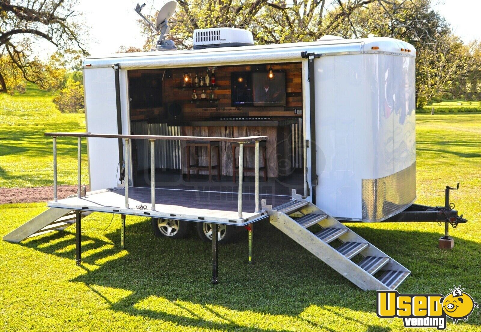 2001 Forrest River 8 X 16 Mobile Party Bar Event Trailer For Sale In Louisiana Ebay