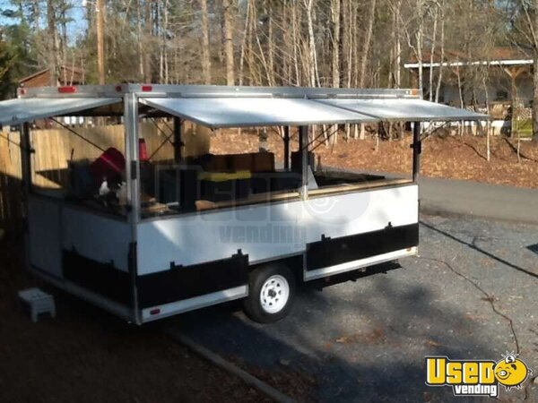 Custom Built Open Air Concession Trailer For Sale In North