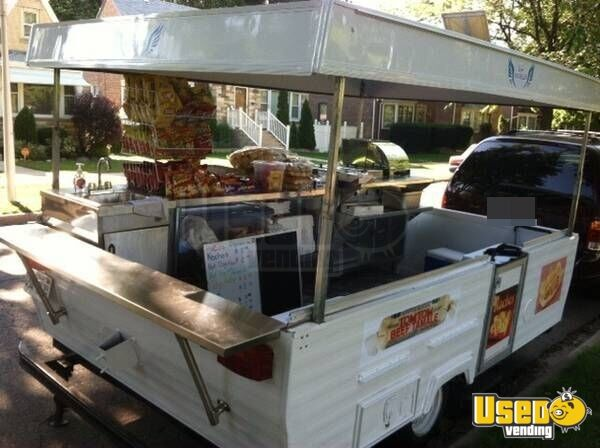 Street Food Concession Trailer Food Cart For Sale In
