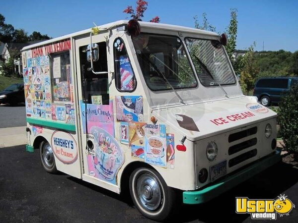 1973 Runs Like A Top Ice Cream Truck Concession Trailer Maryland for Sale