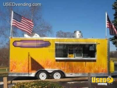 "8' x 20' x 84"" Freedom Prowler Concession Trailer!!!"