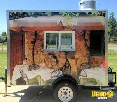 Used 2012 concession trailer for sale in florida mobile for 7x12 kitchen ideas