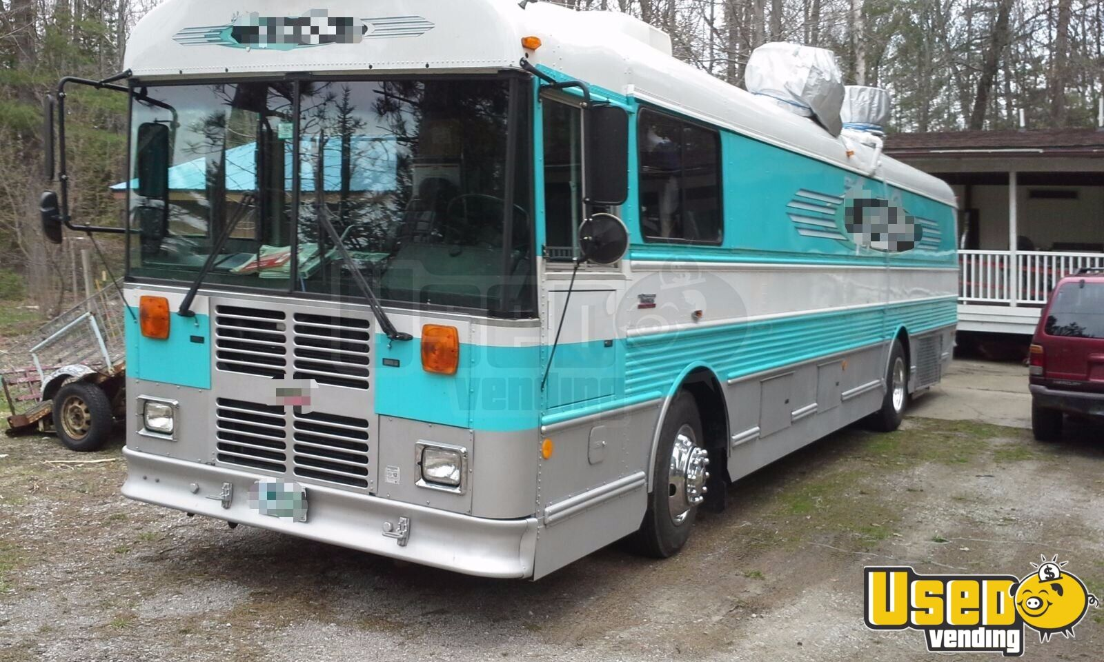 food truck mobile kitchen catering bus for sale is missouri. Black Bedroom Furniture Sets. Home Design Ideas