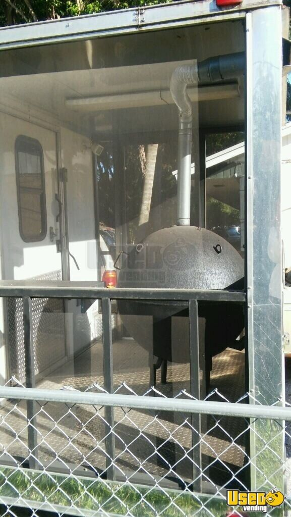 For Sale Used 2014 Freedom Concession Trailer With Bbq