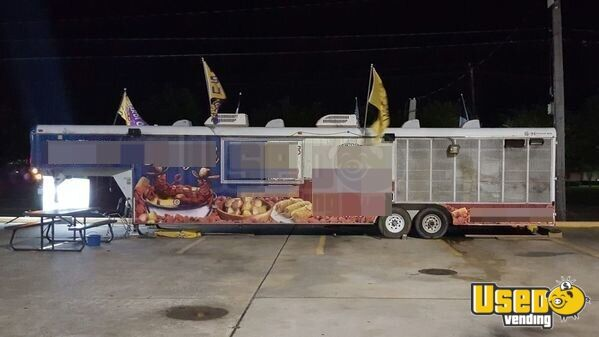 40 Food Concession Trailer Kitchen Trailer For Sale In