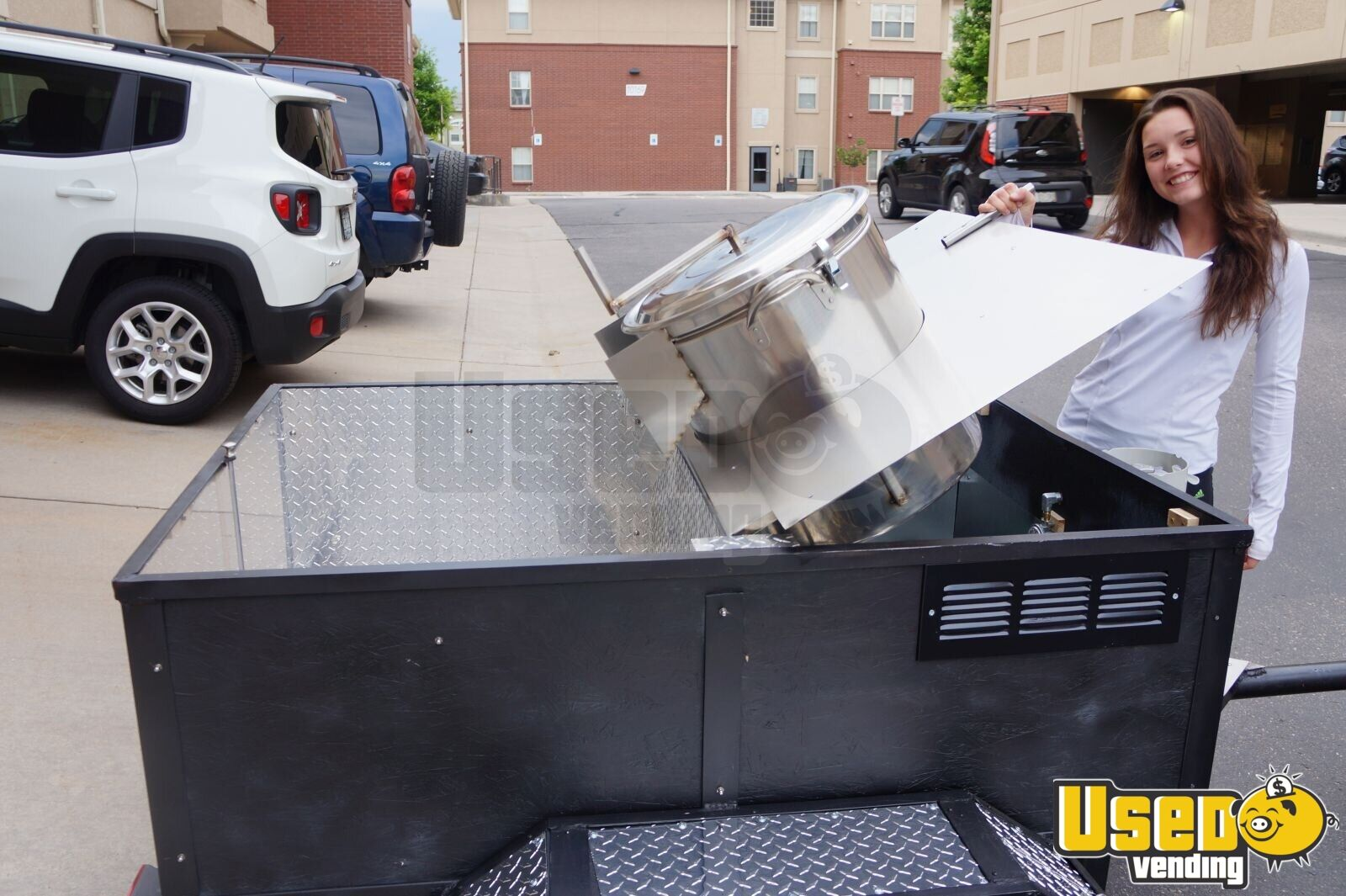 Kettle Corn Trailer Cart for Sale in Colorado - 4