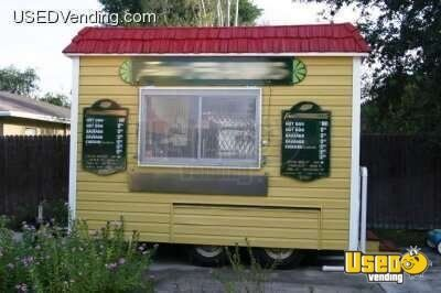 8' x 12' Mobile Food Stand!!!