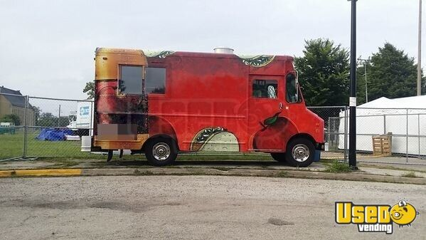 ford grumman food truck mobile kitchen for sale in new jersery. Black Bedroom Furniture Sets. Home Design Ideas