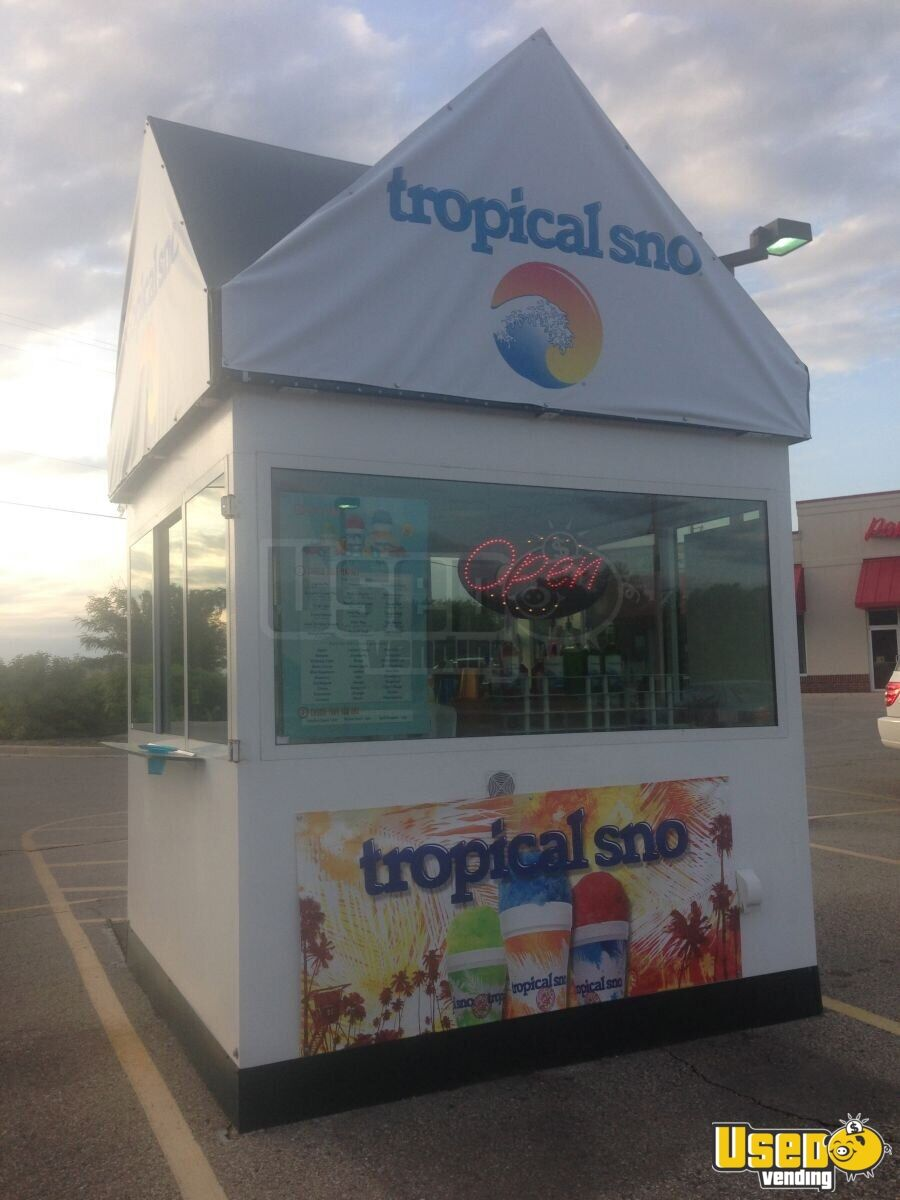 how to build a shaved ice trailer