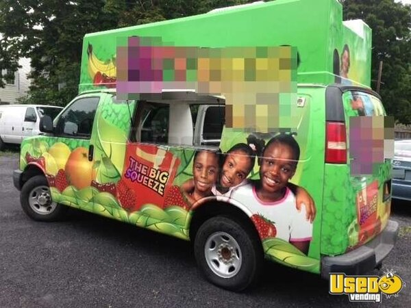 For Sale Used Gmc Food Truck In New York Smoothie Truck