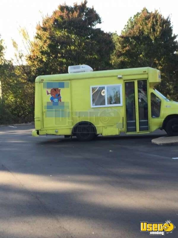 for sale used ford e350 shaved ice truck in tennessee food truck. Black Bedroom Furniture Sets. Home Design Ideas
