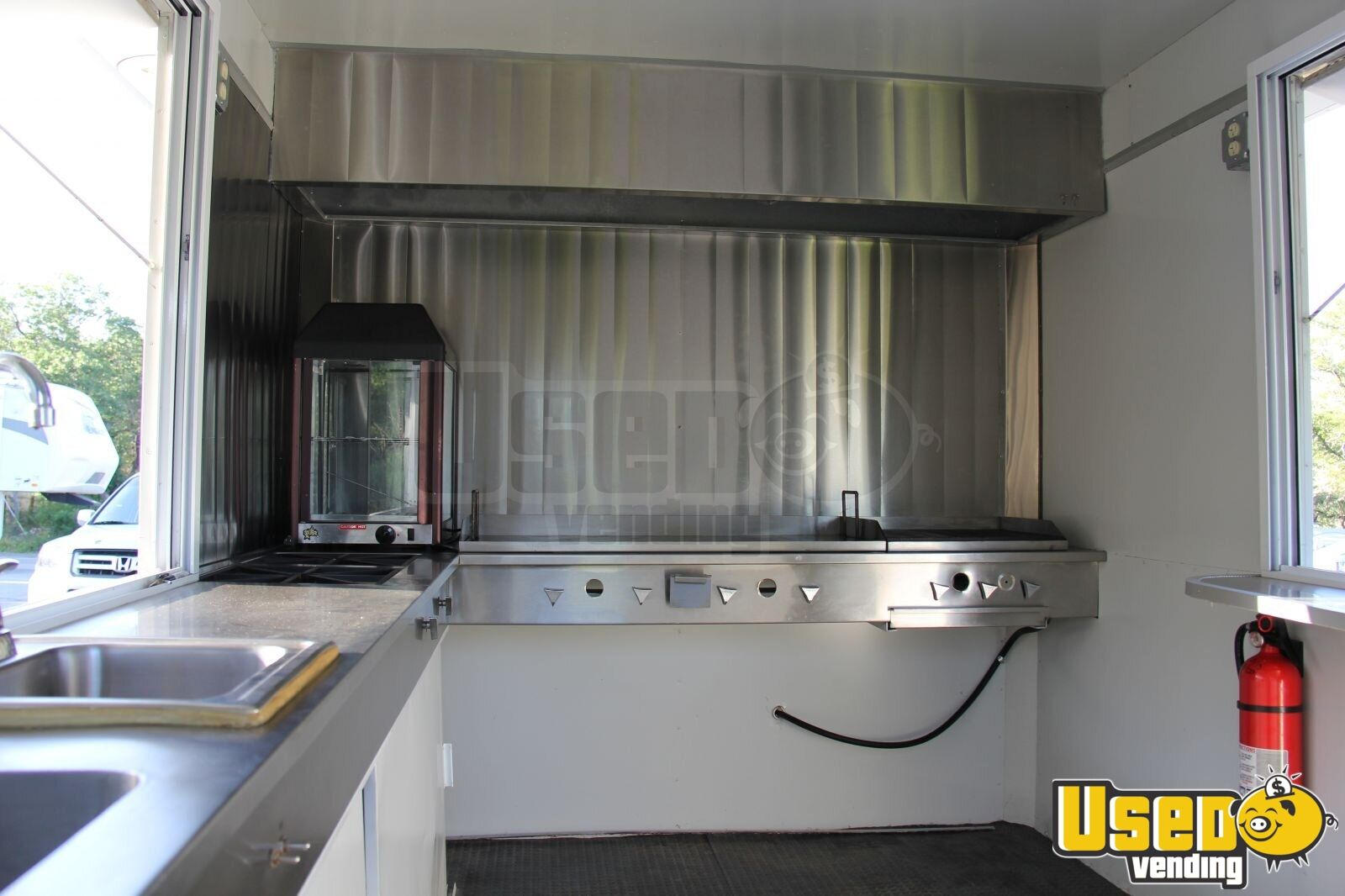 7 5 X 12 Fully Loaded Food Concession Trailer Kitchen
