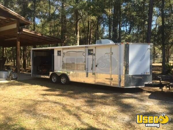 2013 8 5 X 24 Bbq Concession Trailer With Porch