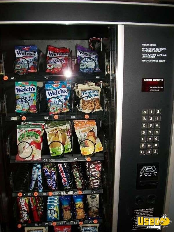 selectivend snack vending machine