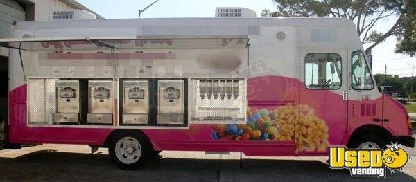 Soft Serve Truck Frozen Yogurt Truck Ice Cream Van