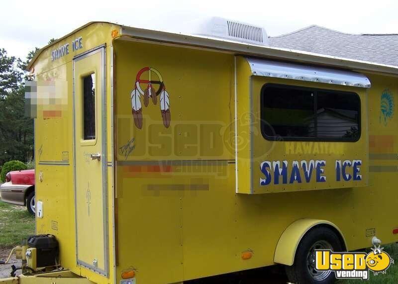 Ice Cream Trucks For Sale >> Sno-Pro Concession Trailer - Shaved Ice Trailer - Snow Cone Trailer