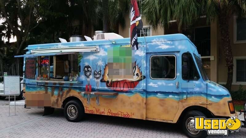 Chevy Workhorse Stepvan Mobile Kitchen Food Truck for Sale in Florida - 3