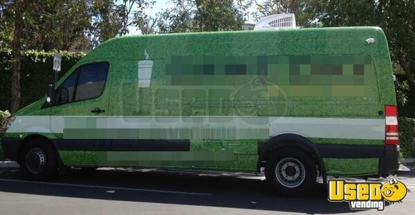 mercedes sprinter coffee truck for sale in california buy used coffee truck. Black Bedroom Furniture Sets. Home Design Ideas