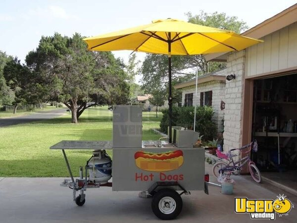 Hot Dog Cart Towable For Sale