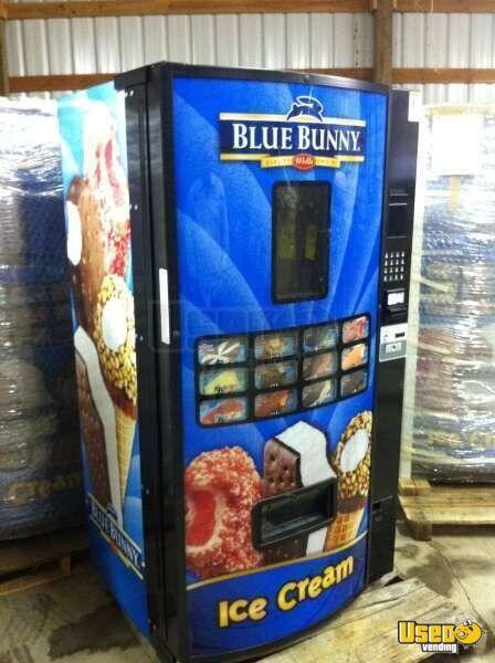 blue bunny vending machine