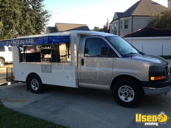 for sale used gmc coffee truck in louisiana food truck lunch truck canteen truck. Black Bedroom Furniture Sets. Home Design Ideas