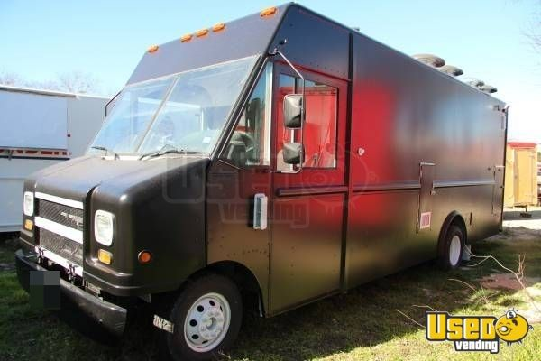 ford mobile kitchen truck food truck for sale in texas. Black Bedroom Furniture Sets. Home Design Ideas