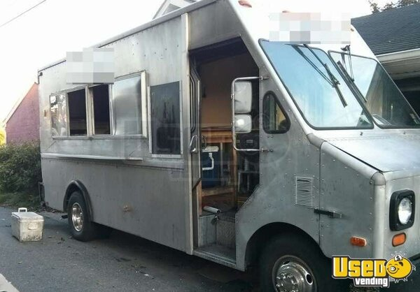 for sale used gmc 3500 food truck in pennsylvania mobile kitchen. Black Bedroom Furniture Sets. Home Design Ideas