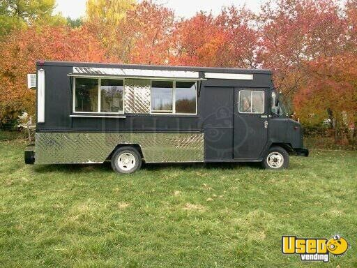 chevy mobile kitchen food truck for sale in wyoming. Black Bedroom Furniture Sets. Home Design Ideas